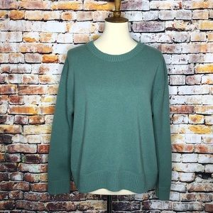 Vince Boxy Crew Neck 100% Cashmere Sweater